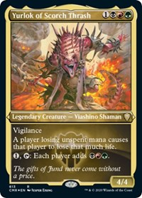 Yurlok of Scorch Thrash (Foil Etched), Magic: The Gathering, Commander Legends