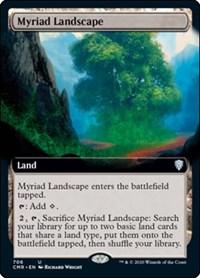 Myriad Landscape (Extended Art), Magic: The Gathering, Commander Legends