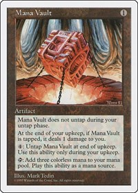 Mana Vault, Magic: The Gathering, Fifth Edition