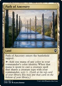 Path of Ancestry, Magic: The Gathering, Commander Legends