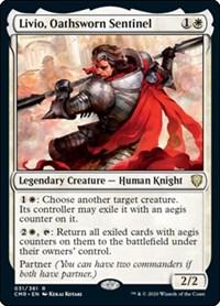 Livio, Oathsworn Sentinel, Magic: The Gathering, Commander Legends