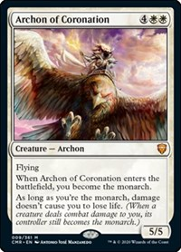 Archon of Coronation, Magic: The Gathering, Commander Legends