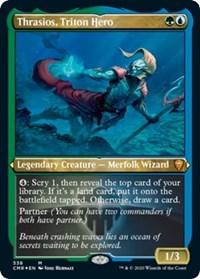Thrasios, Triton Hero (Foil Etched) (Foil)