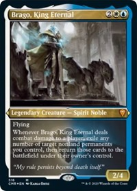 Brago, King Eternal (Foil Etched), Magic: The Gathering, Commander Legends