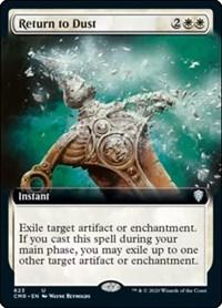 Return to Dust (Extended Art), Magic: The Gathering, Commander Legends