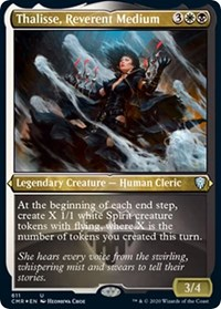 Thalisse, Reverent Medium (Foil Etched), Magic: The Gathering, Commander Legends