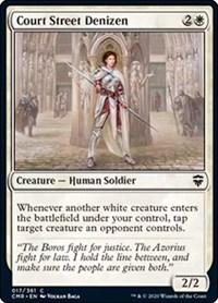 Court Street Denizen, Magic: The Gathering, Commander Legends
