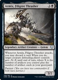 Armix, Filigree Thrasher, Magic: The Gathering, Commander Legends