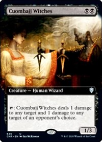 Cuombajj Witches (Extended Art), Magic: The Gathering, Commander Legends