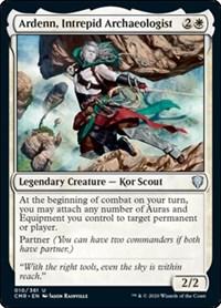 Ardenn, Intrepid Archaeologist, Magic: The Gathering, Commander Legends