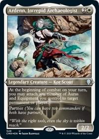 Ardenn, Intrepid Archaeologist (Foil Etched), Magic: The Gathering, Commander Legends