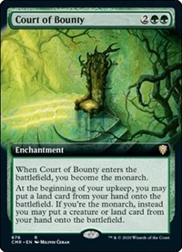 Court of Bounty (Extended Art), Magic: The Gathering, Commander Legends