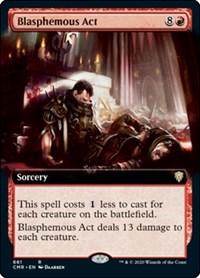 Blasphemous Act (Extended Art) (Foil)