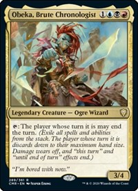 Obeka, Brute Chronologist, Magic: The Gathering, Commander Legends