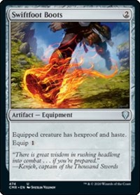 Swiftfoot Boots, Magic: The Gathering, Commander Legends