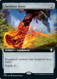 Swiftfoot Boots (Extended Art) (Foil)