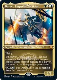 Derevi, Empyrial Tactician (Foil Etched), Magic: The Gathering, Commander Legends