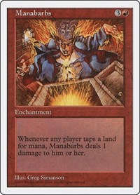 Manabarbs, Magic: The Gathering, Fifth Edition