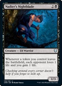 Nadier's Nightblade, Magic: The Gathering, Commander Legends