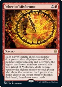 Wheel of Misfortune, Magic: The Gathering, Commander Legends