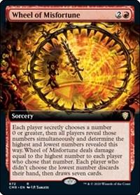 Wheel of Misfortune (Extended Art) (Foil)