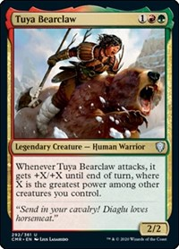 Tuya Bearclaw, Magic: The Gathering, Commander Legends