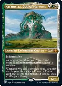 Karametra, God of Harvests (Foil Etched), Magic: The Gathering, Commander Legends