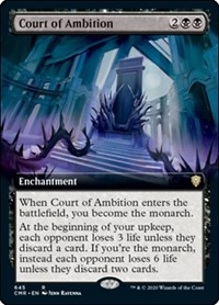 Court of Ambition (Extended Art) (Foil)