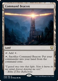 Command Beacon, Magic: The Gathering, Commander Legends