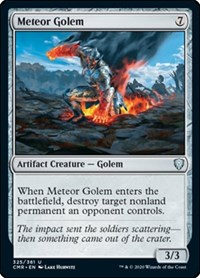 Meteor Golem (325), Magic: The Gathering, Commander Legends
