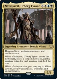 Nevinyrral, Urborg Tyrant, Magic: The Gathering, Commander Legends