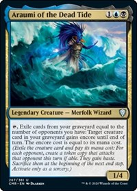 Araumi of the Dead Tide, Magic: The Gathering, Commander Legends