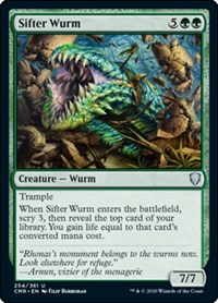 Sifter Wurm, Magic: The Gathering, Commander Legends