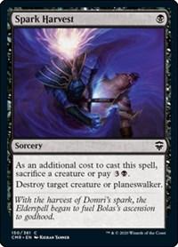Spark Harvest, Magic: The Gathering, Commander Legends