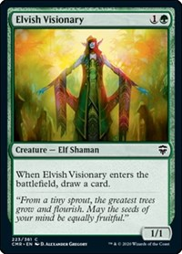 Elvish Visionary, Magic: The Gathering, Commander Legends