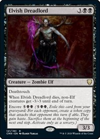 Elvish Dreadlord, Magic: The Gathering, Commander Legends