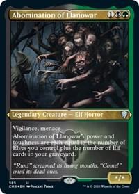 Abomination of Llanowar (Foil Etched), Magic: The Gathering, Commander Legends