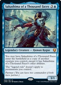 Sakashima of a Thousand Faces, Magic: The Gathering, Commander Legends