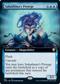 Sakashima's Protege (Extended Art), Magic: The Gathering, Commander Legends