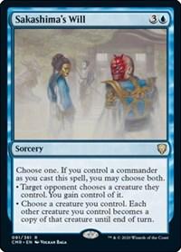 Sakashima's Will, Magic: The Gathering, Commander Legends