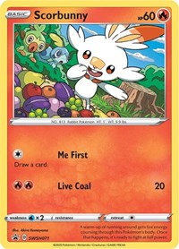 Scorbunny - SWSH071, Pokemon, SWSH: Sword & Shield Promo Cards