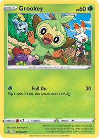 Grookey - SWSH070, Pokemon, SWSH: Sword & Shield Promo Cards