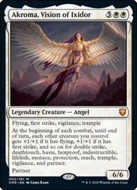 Akroma, Vision of Ixidor, Magic: The Gathering, Commander Legends