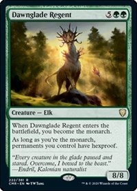 Dawnglade Regent, Magic: The Gathering, Commander Legends