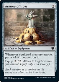 Armory of Iroas, Magic: The Gathering, Commander Legends
