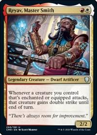 Reyav, Master Smith, Magic: The Gathering, Commander Legends