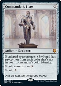 Commander's Plate, Magic: The Gathering, Commander Legends
