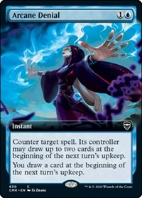 Arcane Denial (Extended Art), Magic: The Gathering, Commander Legends