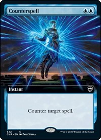 Counterspell (Extended Art), Magic: The Gathering, Commander Legends