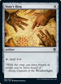 Sisay's Ring, Magic: The Gathering, Commander Legends